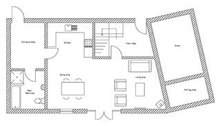 Buddle Barn Floor Plan