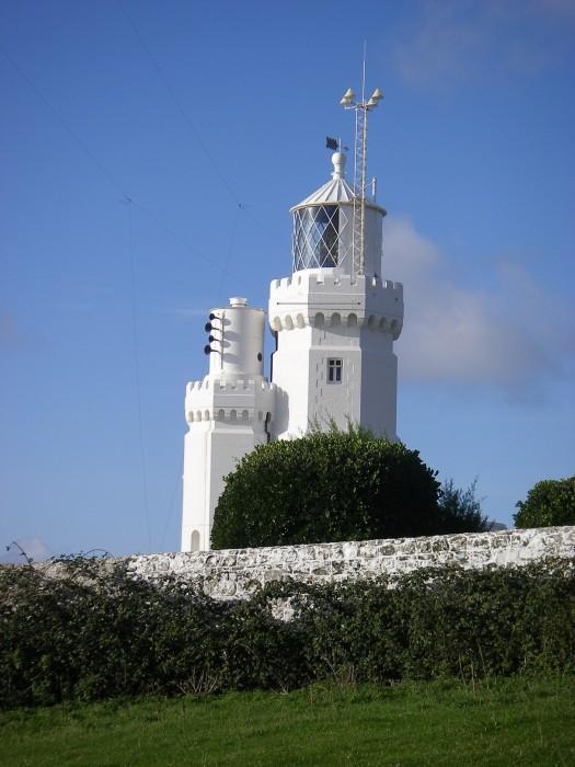 Lighthouse at St Catherines Point, Isle of Wight